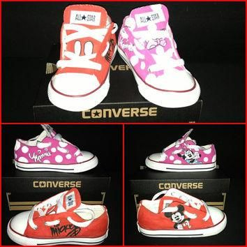 Custom Hand-Painted TODDLER (sz 2-10) Chucks/Converse *Choose YOUR favorite or create