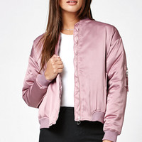 Kendall & Kylie Lilac Bomber Jacket at PacSun.com