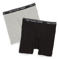 Boy's Polo Ralph Lauren Boxer Briefs (2-Pack)