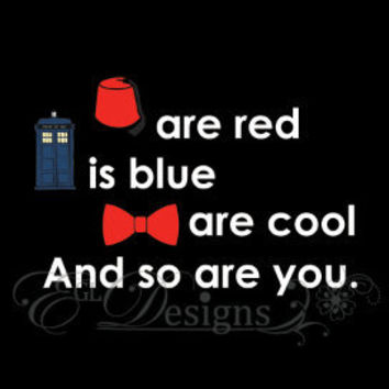 Dr. Who Valentine's/ Anniversary Card