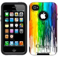 Otterbox Commuter Melting Wax Case for Apple iPhone 4