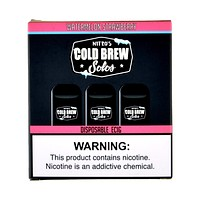 Nitro's Cold Brew Solos Watermelon Strawberry Disposable E-Cig