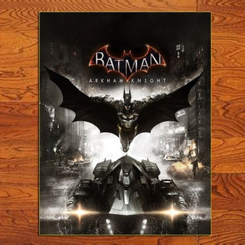 1x Batman Arkham Knights Game poster home decor posters prints 20 * 26""