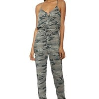 Brooklyn Karma Camo Jumpsuit