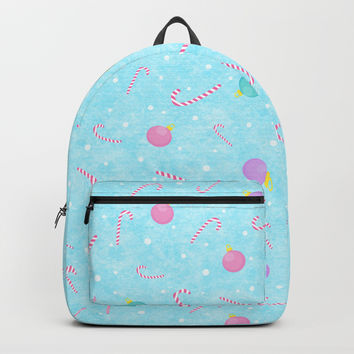 Christmas pattern Backpack by edrawings38