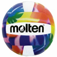 Molten's affordable Bright Multi-Colored Tie Dye Camp Volleyballs