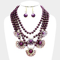 Adele Layered Pearl Necklace