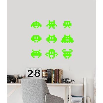 Vinyl Wall Decal Video Game Pictures Gamer Room Children's Room Stickers (3697ig)