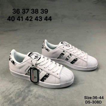 Adidas SUPERSTAR Men and Women Fashion Outdoor Skate Shoes