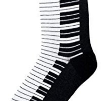 Piano Socks Foot Traffic MUSIC LOVERS Women's Novelty Socks