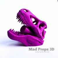 T Rex Shower Head, 3D Printed Jurassic Park Shower Head