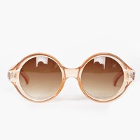 Full Circle Shades - Peach in  Clothes at Nasty Gal