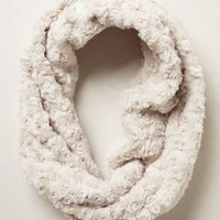 Swirled Fur Cowl by Anthropologie Cream One Size Jewelry