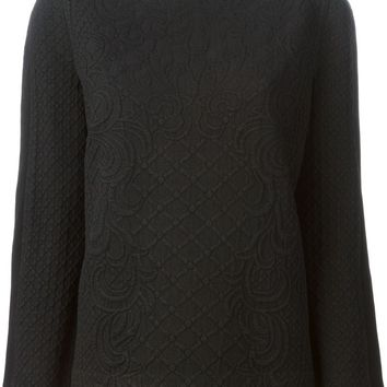 Tory Burch bobble knit sweater