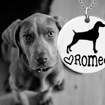 Weimaraner Personalized Jewelry