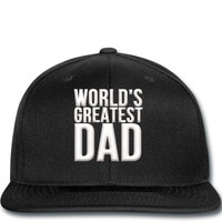 worlds greatest dad Snapback
