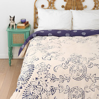 Magical Thinking Block Medallion Duvet Cover