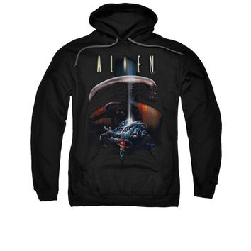 Alien Movie Planet Licensed Adult Pullover Hoodie