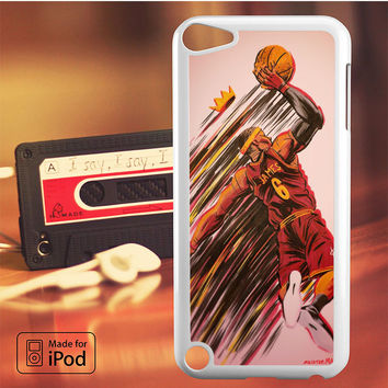 Lebron James Cleveland iPod Touch 4 5 6 Case Cover