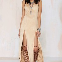 Nasty Gal Love Me Two Times Maxi Dress