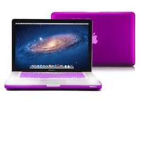 Macbook Pro 13 Case, GMYLE 2 in 1 - Deep Purple Frosted Matte Rubber Coated Rubberized Hard Case for Macbook Pro 13 inch (Not Fit for Macbook Pro 13 inch with Retina Display)