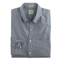 J.Crew Mens Secret Wash Shirt In City Check