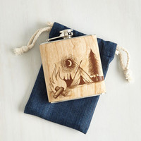 Rustic Camp Vibes Flask by ModCloth