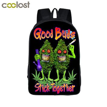 Good Buds - Two Pocket Backpack - CannaPacks