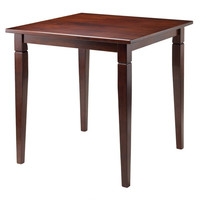 Kingsgate Dining Table Routed with Tapered Legs