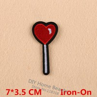 lollipop  Clothes  Embroidered  Patches  Clothing