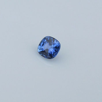 Ceylon Blue Sapphire Square Cushion Fine Gemstone for 14K Gold Engagement Ring September Birthstone
