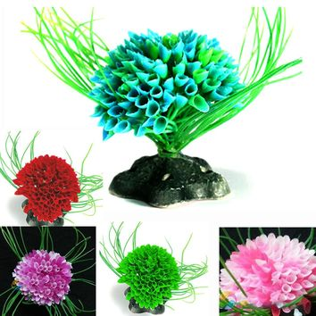 High Quality Artificial Decoration Water Plant Plastic Grass Fish Tank Aquarium Decor Ornament