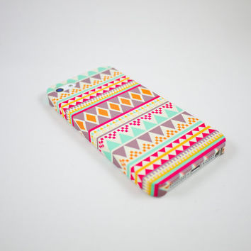Aztec Geometric  iPhone 5 Case, iPhone 5 Cover, Hard iPhone 5 Case
