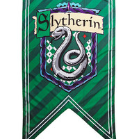 Harry Potter Slytherin Shield Banner Hot Topic Exclusive