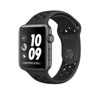 Apple Watch Nike+, 38mm Space Gray Aluminum Case with Anthracite/Black Nike Sport Band