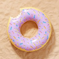 Lilac Donut Inner Tube Pool Float - Urban Outfitters