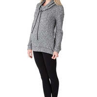 Ripe Maternity Marley Loose Turtle Neck Lounge Top
