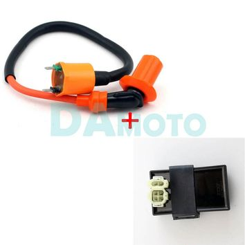 High Performance Ignition Coil And DC CDI For Scooter GY6 Kymco SYM Vento Engine Parts 50CC ~ 150CC 4 Stroke 139QMA QMB
