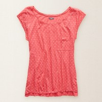 AERIE PRINTED SLEEP TEE