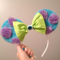 Monsters inc inspired Mickey Mouse ears