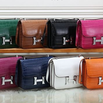 H WALLET BAG MATCH SINGLE ZIPPER