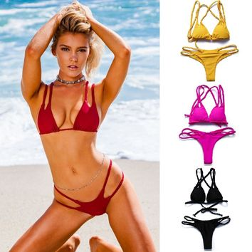 BANDEA Sexy Micro ladies bikini 2017 women Plus Size push up bikini set Swimsuit triangle Swimwear Brazilian bottom bathing suit