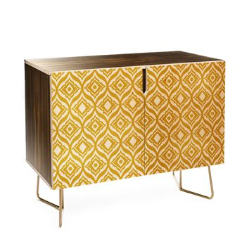Heather Dutton Trevino Yellow Credenza