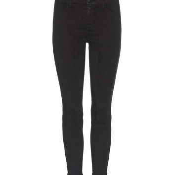 Anja Mid-rise Cropped skinny trousers
