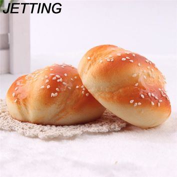 JETTING Kawaii Jumbo Cake  Bread Squeeze Squishy Slow Rising Stretchy Charm Cute Pendant Kid Toy Gift Phone Straps