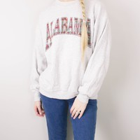 Vintage Alabama Plaid Sweatshirt