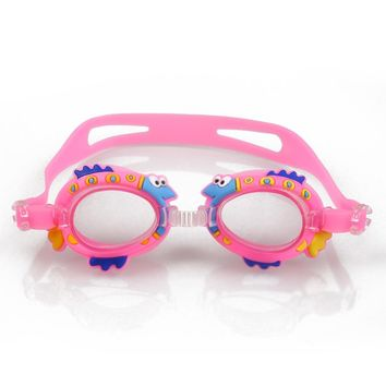 Relefree Goggles For Children Anti Fog Swimming Glasses Kids Diving surfing goggles Boy Girl Optical Reduce Glare  Eye wear