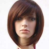 Short Straight Women Cosplay Wig