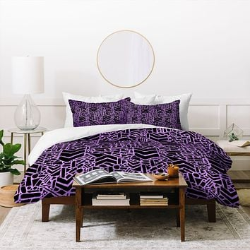 Nick Nelson Microcosm Orchid Duvet Cover