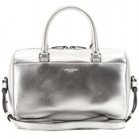 mytheresa.com -  DUFFLE 3 MINI LEATHER BOWLING BAG - Luxury Fashion for Women / Designer clothing, shoes, bags